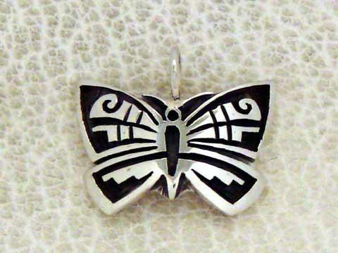 ホピ族 ペンダント チョウチョhpe-0244a