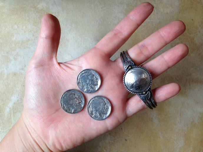 5セントコインバングル