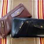 新年に備え、バッグと財布をおそろいに!