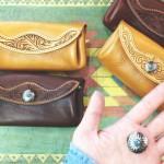 かわいい革財布